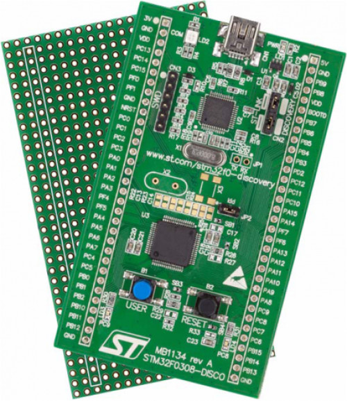 STM32 by ST STM32F072B-DISCO Discovery kit with STM32F072RB MCU
